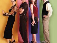 """Dentro il telefilm: """"Will & Grace""""."""