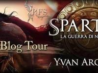 """Blog tour tappa numero 1 e Recensione in anteprima """"  Spartan – La guerra di Nabide""""  di Yvan Argeadi"""