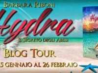 3 ° TAPPA BLOG TOUR + GIVEAWAY HYDRA IL SEGRETO DEGLI ABISSI DI BARBARA RIBONI: IL BOOKTRAILER UFFICIALE