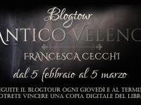 """5° ed ultima tappa Blog tuor""""Antico Veleno"""" di  Francesca Cecchi"""