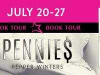 """Inediti in Italia: Book Tour """"Pennies"""" di Pepper Winters * Dollar Serie$ #1"""