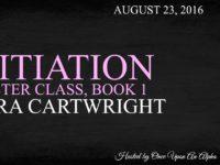 "Inediti in Italia: Release Blitz ""Initiation"" di Sierra Cartwright (#1 Master Class)"