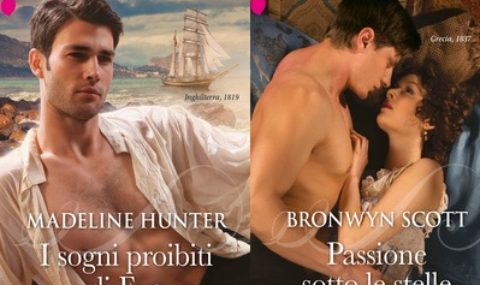I grandi Romanzi storici seduction di agosto: Bronwyn Scott e Madeline Hunter