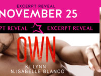 "Inediti in Italia: Excerpt Reveal ""Own"" di K.I. Lynn & N. Isabelle Blanco (#3 Need series)"
