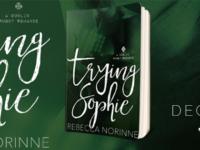 """Inediti in Italia: Release Blitz """"Trying Sophie"""" di Rebecca Norinne * Dublin Rugby #1"""