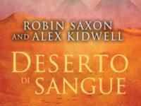 """Recensione: """"Deserto di sangue"""" di Robin Saxon e Alex Kidwell * Serie Sanguis Noctis #2"""