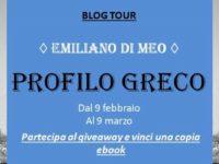 """BlogTour & Giveaway: """"Profilo Greco"""" di Emiliano di Meo ◊ seconda tappa"""