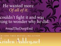 """Inediti in Italia: Trailer Reveal """"The Deep End"""" di Kristen Ashley"""