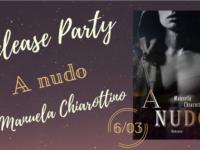 """Release Party: """"A nudo"""" di Manuela Chiarottino"""