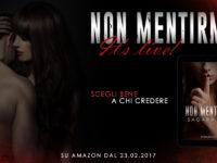 """Release Blitz + Recensione: """"Non mentirmi"""", di Sagara Lux"""