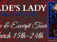 "Inediti in Italia: Review & Excerpt Tour ""Shade's Lady"" di Joanna Wylde * Reapers MC #6.5"