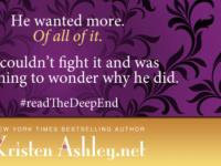 "Inediti in Italia: Release Day Launch ""The Deep End"" di Kristen Ashley * The Honey Series #1"